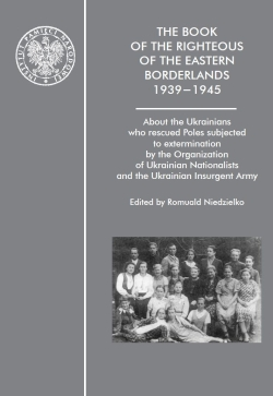 THE BOOK OF THE RIGHTEOUS OF THE EASTERN BORDERLANDS 1939 - 1945