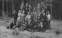 Self-Defense detachment in Volhynia in 1943.