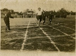 Sports competition, Poryck, interwar period.